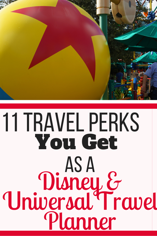 As a Travel Agent, you get hotel, theme park tickets, and tour discounts. There's a lot of advantages of becoming an at-home Disney Travel Planner! #disneyworld #universalstudios #traveldiscounts