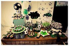 festa de aniversário tema futebol