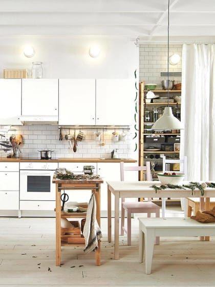5 super pratische ideen wie du deine kleine k che einrichten kannst stylight k che. Black Bedroom Furniture Sets. Home Design Ideas