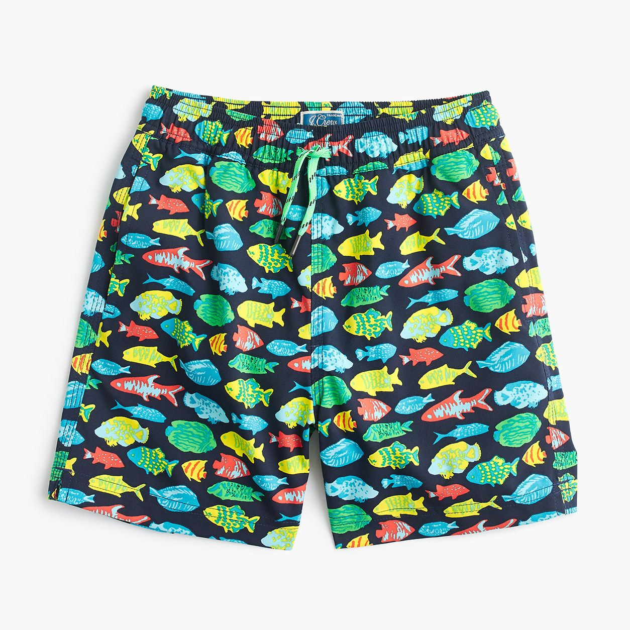20b9d2e09e crewcuts Boys Swim Trunk In Tropical Fish (Size 10 Kid) | Products ...