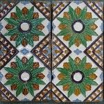 Antique Tiles Made in Spain, Circa 18th century