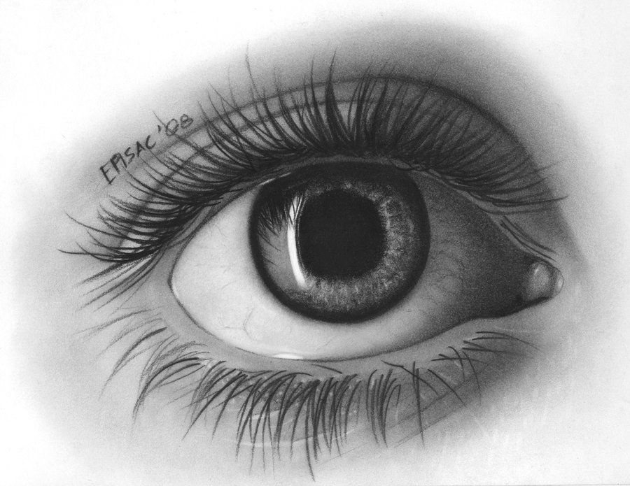 eye-drawing by episac.deviantart.com #drawing #sketches ...