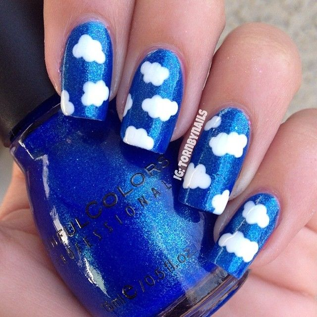 nails,quenalbertini: Instagram photo by tornbynails | ink361