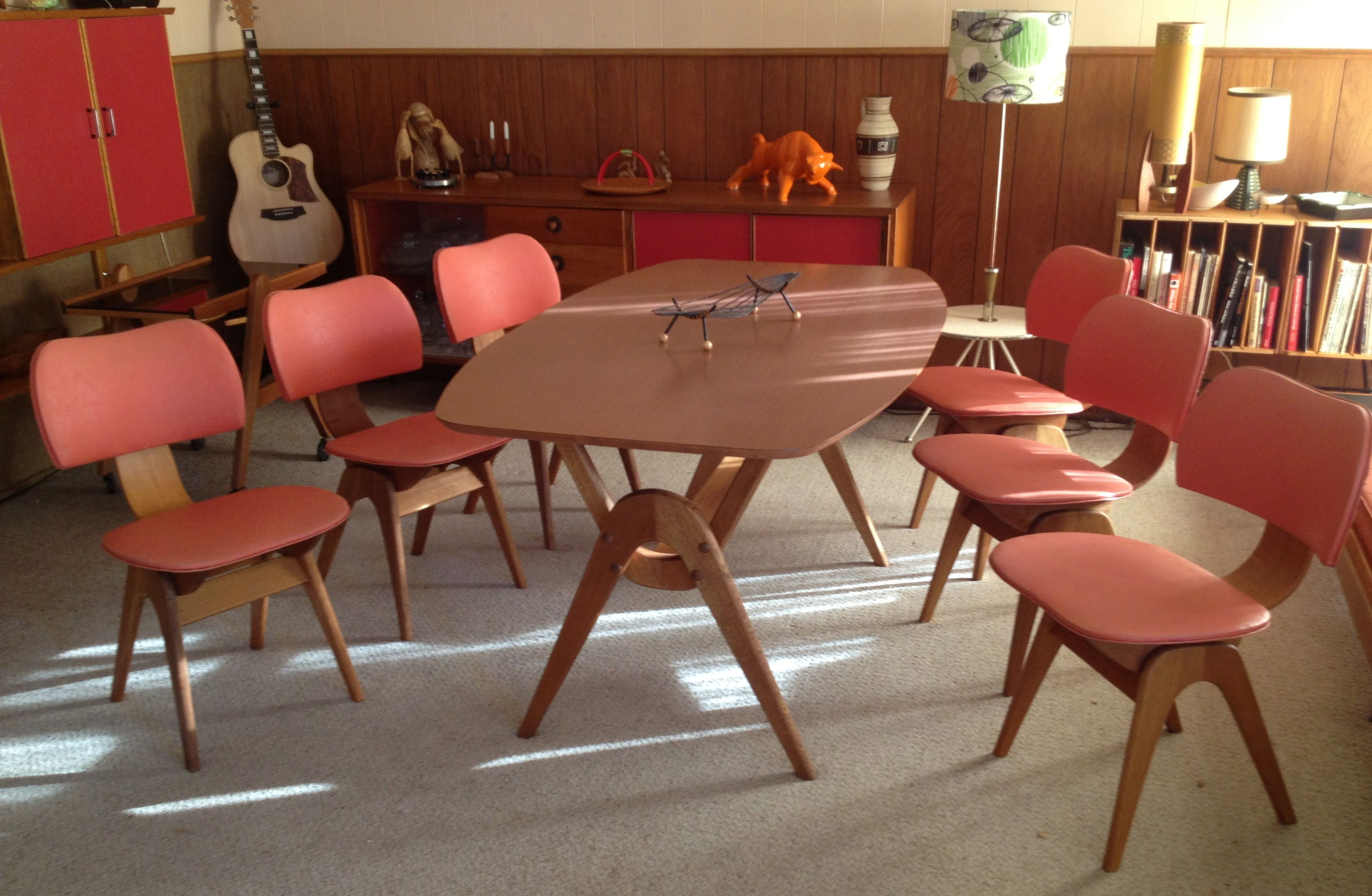 1950s dining suite by TH Brown retro spect design