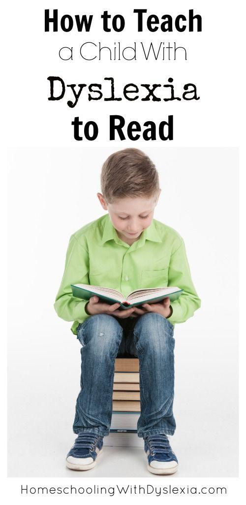 Study methods for dyslexia