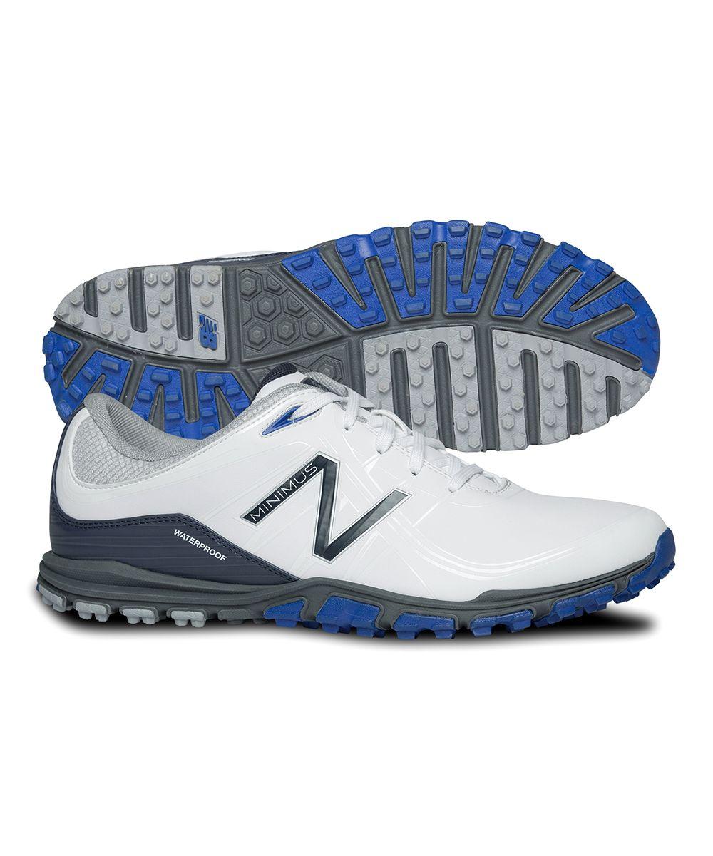 White \u0026 Blue Minimus Golf Shoe - Men