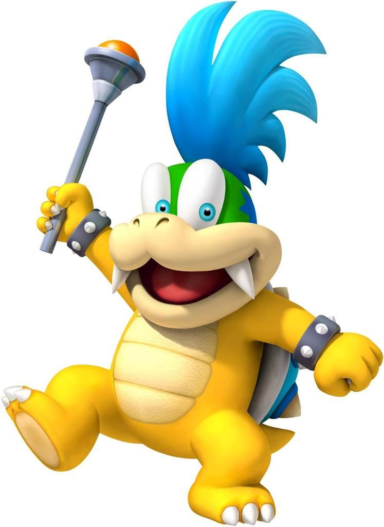 LARRY KOOPA Super Mario Bros Decal Removable WALL STICKER Home Decor ...