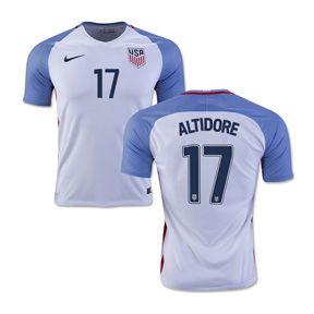 away usmnt soccer nike usa altidore 17 usmnt soccer jersey (home 201617) http 2016 copa america usa