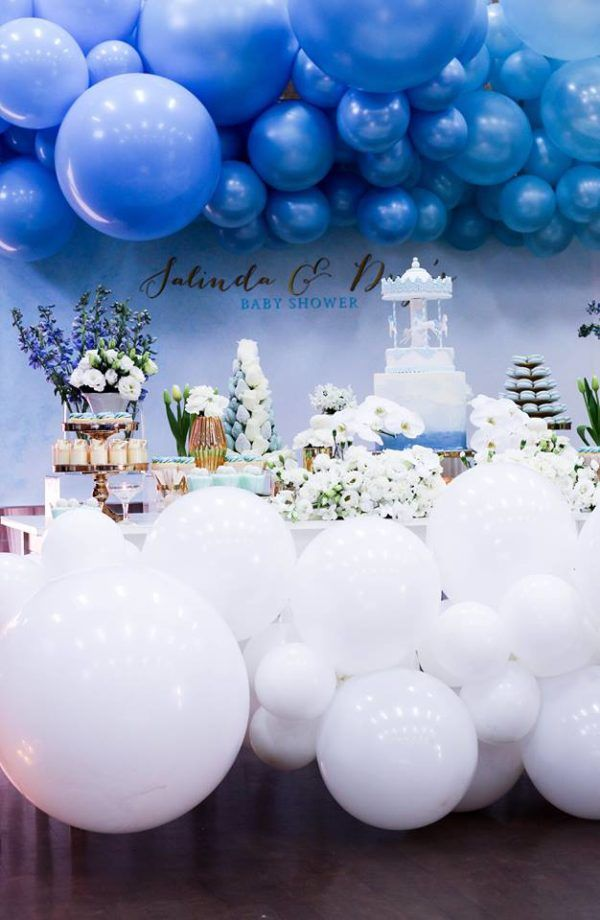 Pin On Blue Theme Baby Shower