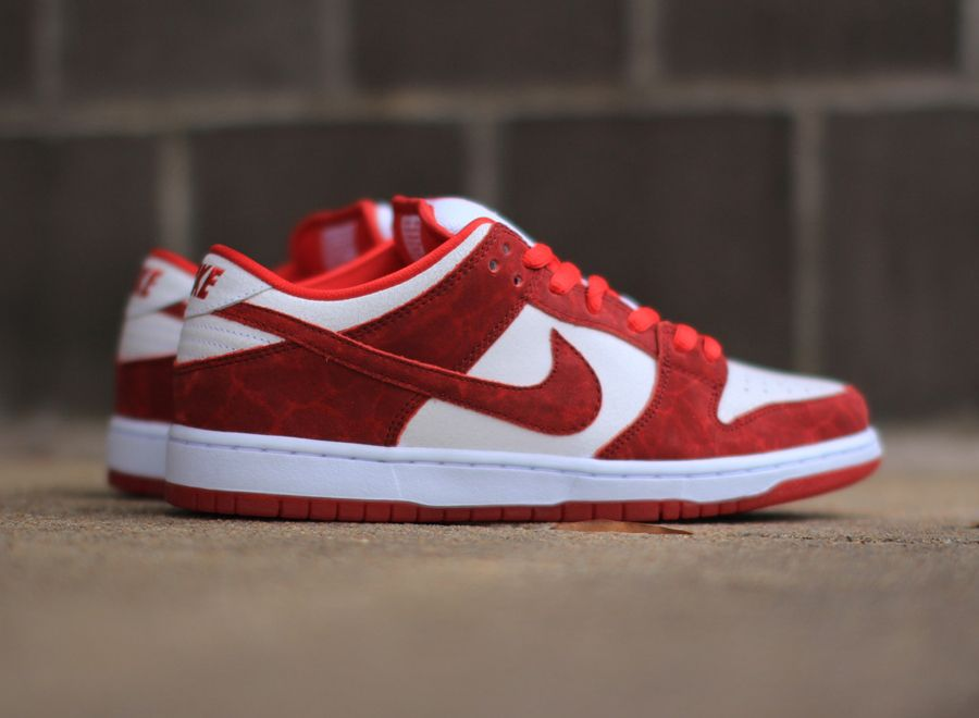 "Nike SB Dunk Low ""Valentines Day"" - SneakerNews   Nike sb dunks"