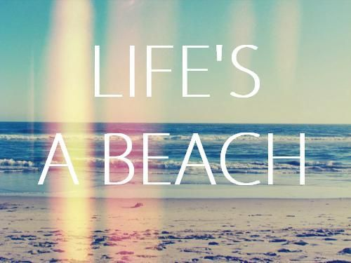 Cute Beach Quotes About Life Bing Images