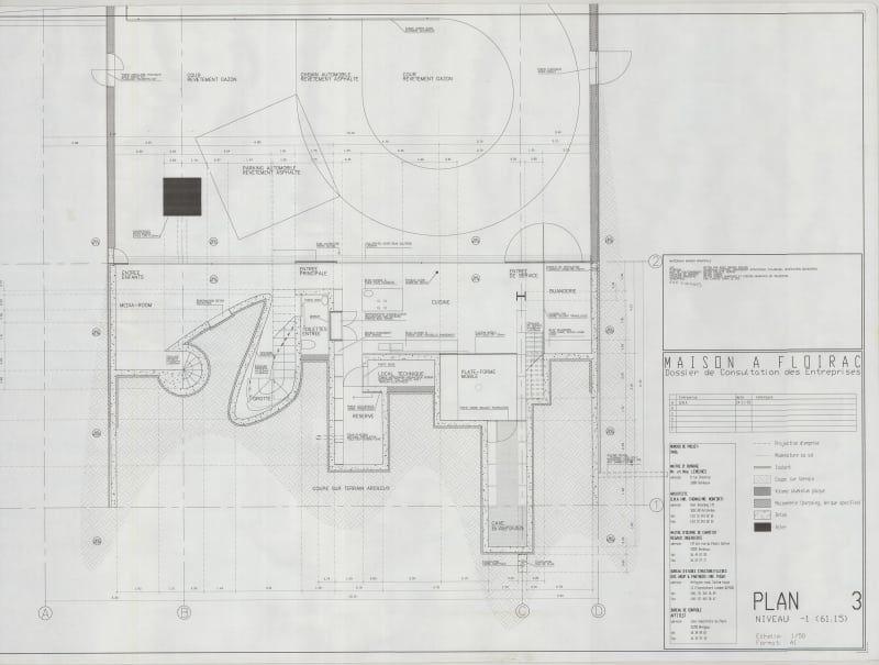 OMA - Office of Metropolitan Architecture · Maison à Bordeaux Rem - plan architecturale de maison