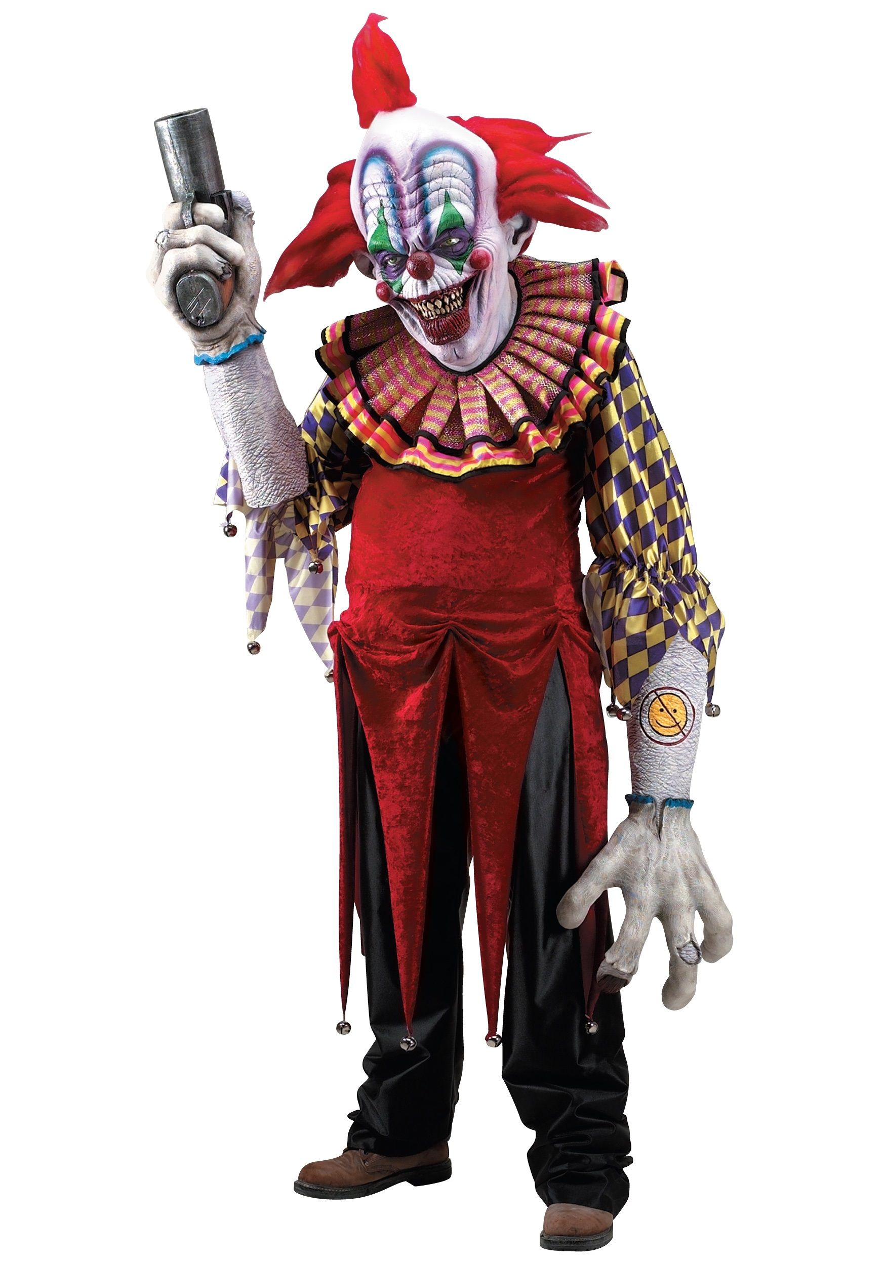 Giggles the Clown Creature Reacher Costume | Costumes, Scary ...