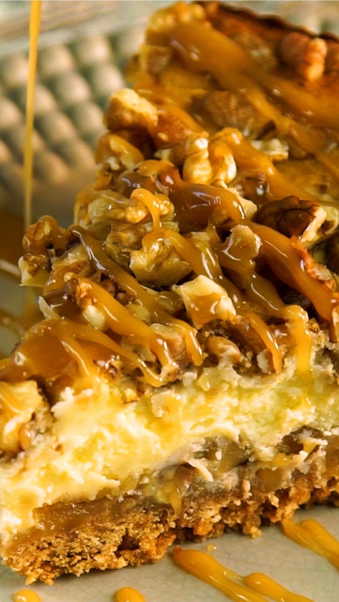Cheesecake de Manzana y Nuez
