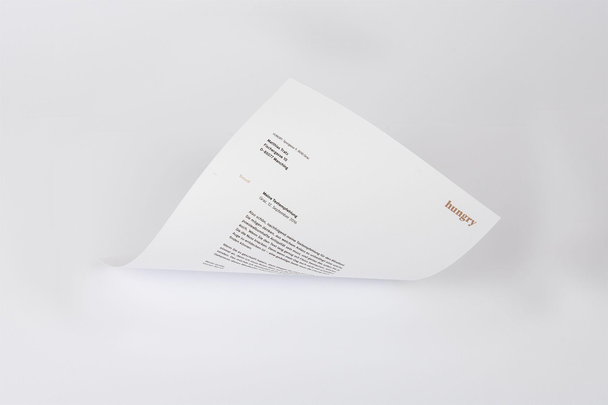 HUNGRY / Designstudio / Austria