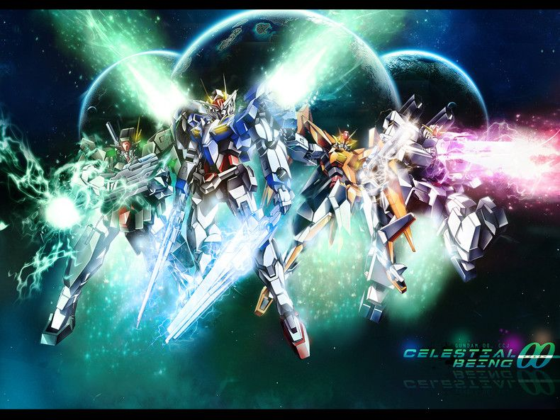 Celestial Being Mobile Suit Gundam 00 Wallpapers Gundam 00 Mobile Suit Gundam 00 Gundam Exia