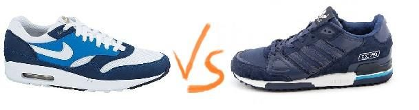 Какие кроссовки лучше nike или adidas