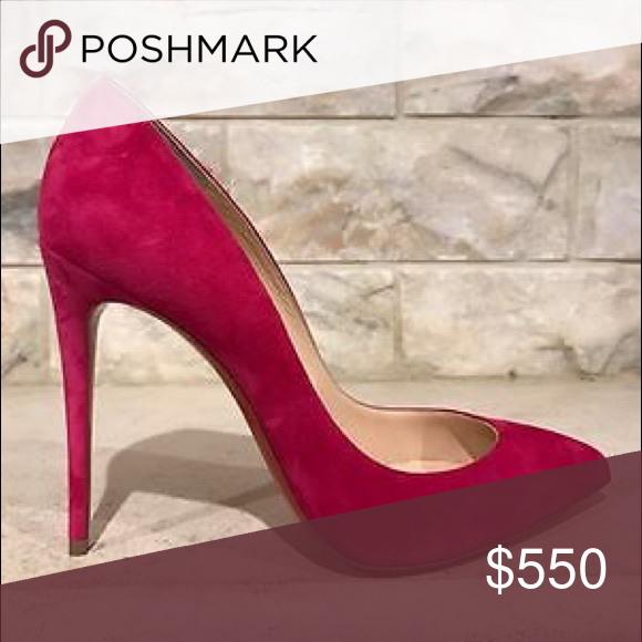 huge discount 6da7d a74c5 Pink Christian Louboutin Pigalle Follies 100 WILL UPLOAD ...