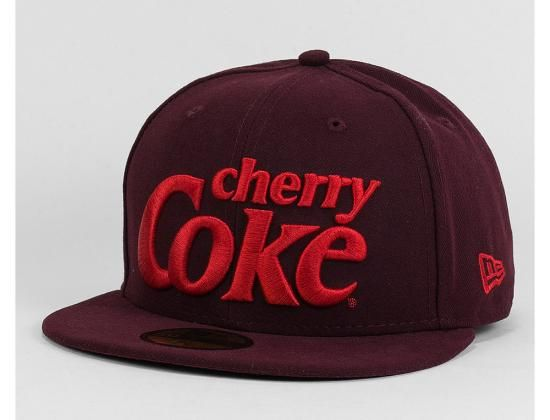 Cherry Coke 59Fifty Fitted Baseball Cap by COCA-COLA x NEW ERA ... 520bf22a304