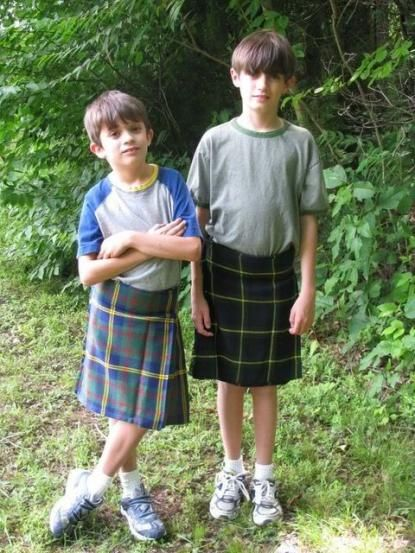 No Boy Has Ever Been Kilt For Skirting The School Dress -2521