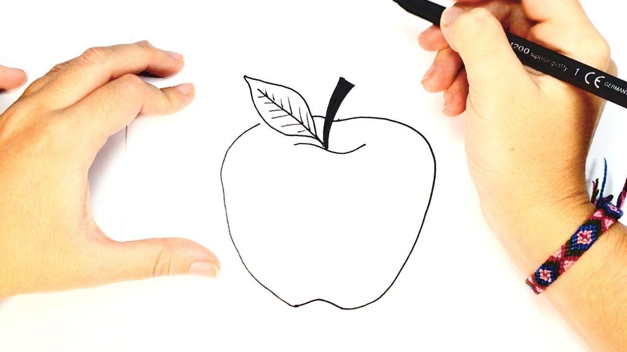 Como Dibujar Una Manzana Dibujo Facil De Una Manzana Paso A Paso Manzanas Dibujo Como Dibujar Dibujo Paso A Paso