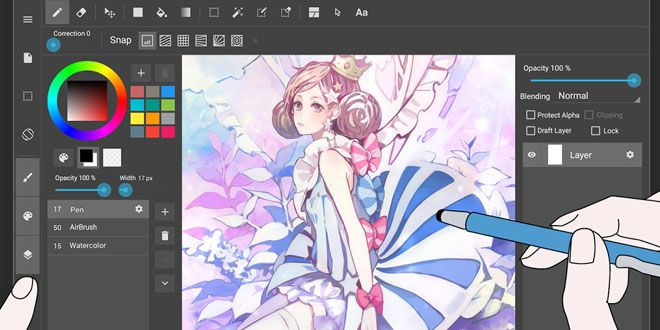 Crea Historietas En El Movil Con Medibang Paint Tablet Http J Mp