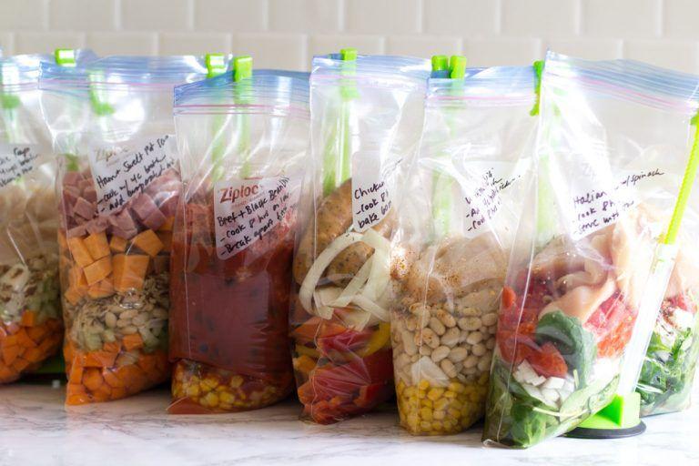 Glutenfree crockpot freezer meals from aldi 9 meals in