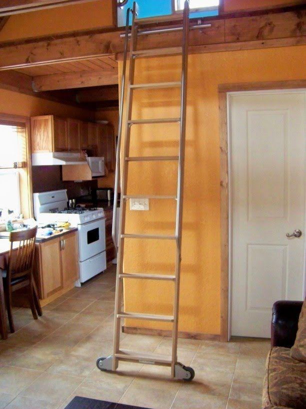 Loft Ladder With Hooks   Google Search
