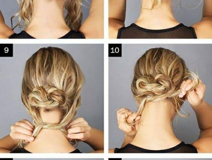 1001 Ideen Wie Sie Effektvolle Hochsteckfrisuren Selber Machen Hochsteckfrisuren Selber Machen Frisur Hochgesteckt Hochsteckfrisur