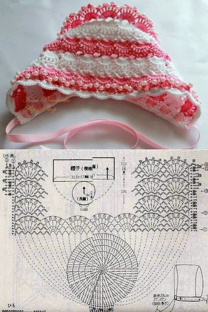 Meu Mundo Craft: Toquinha de crochê retro