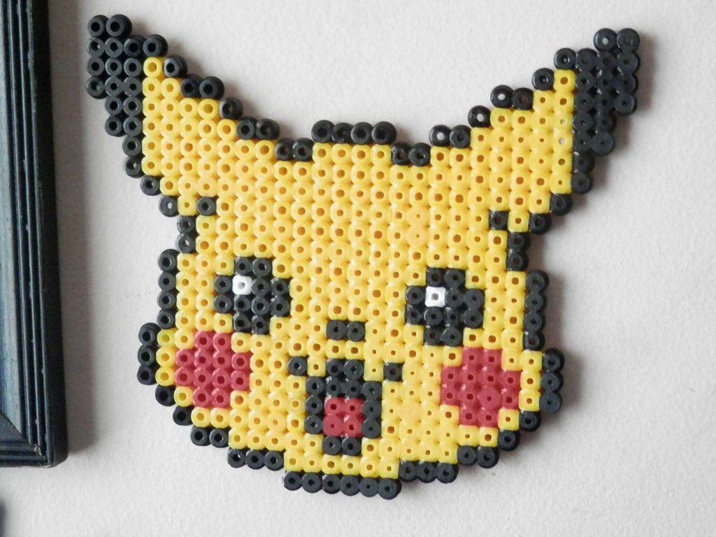 Pikachu Perler Beads By Felineattraction Perler Bead Patterns
