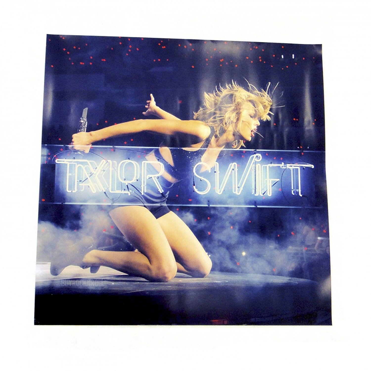 Taylor Swift Collectible 2015 Poster 1989 Live Neon Litho Taylor Swift Taylor Swift