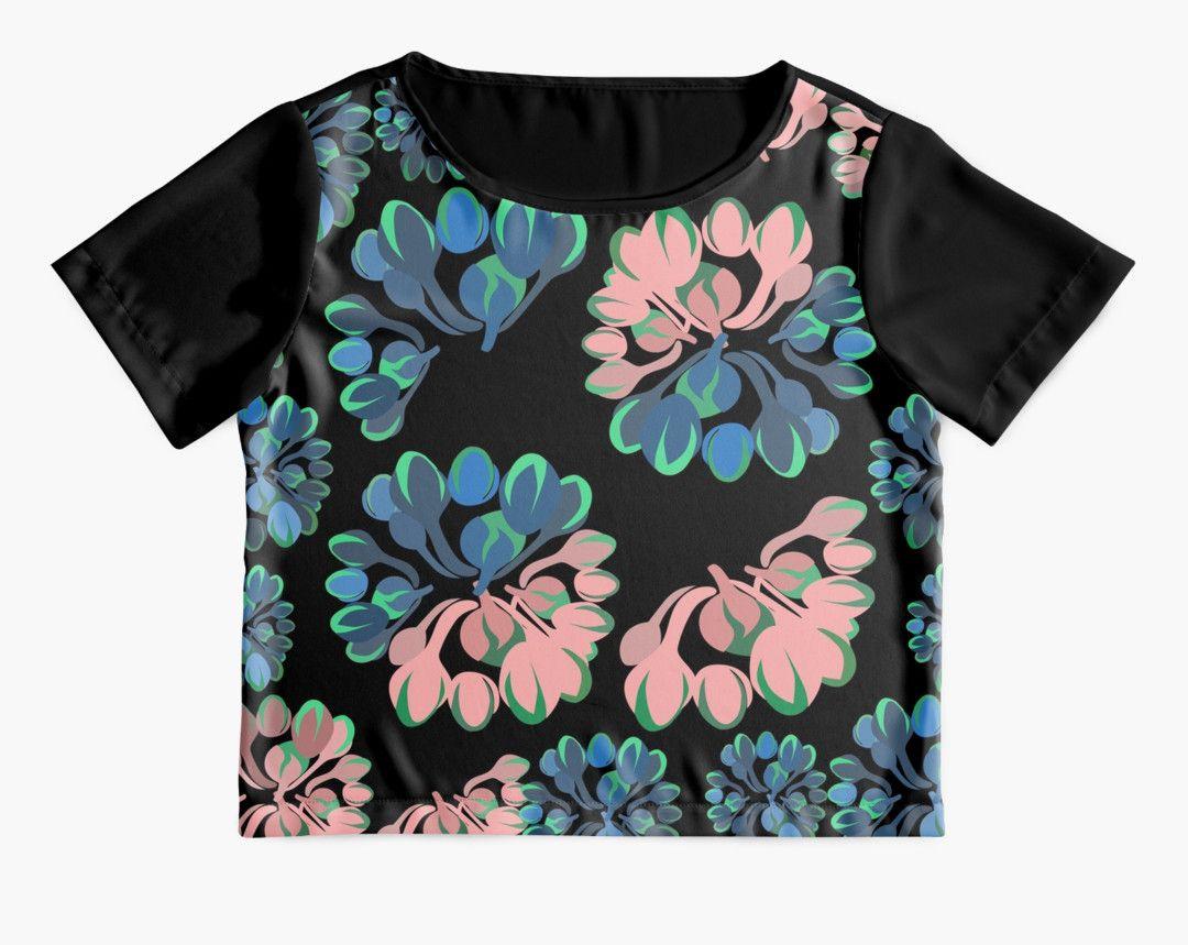 #floralprint #botanicaltheme #tshirt #womenstyle #clothing #tops