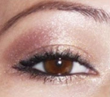 Shimmering Neutral - Click Pic for 18 Makeup Tips for Brown Eyed Girls