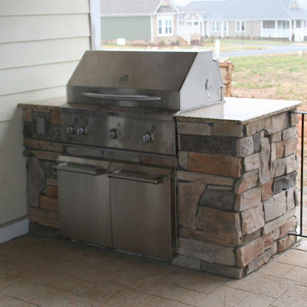 Outdoor Kitchen With Roof: BBQ Island Newcreationshomeimprovements.com