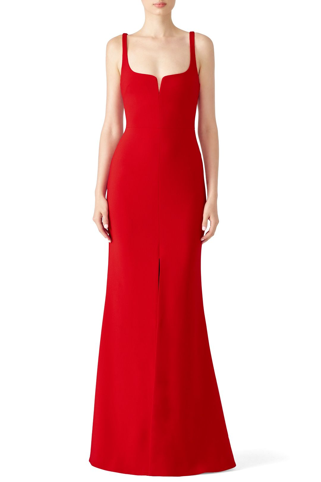 Rent Red Constance Gown By Likely For 70 Only At Rent The