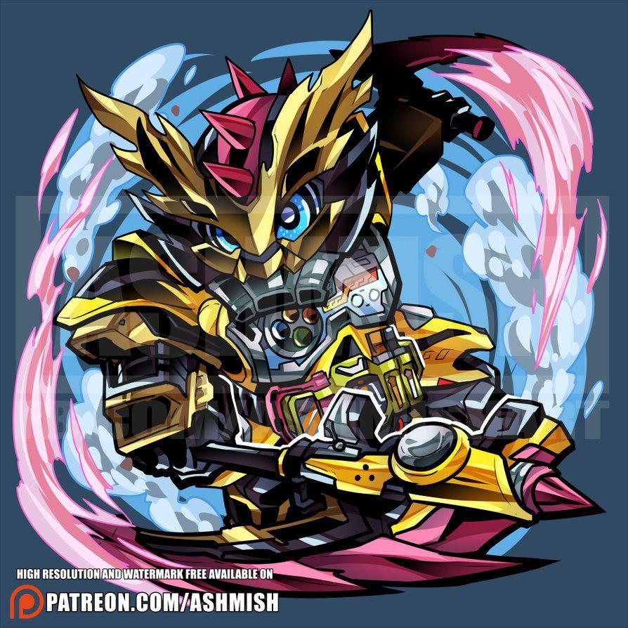 Kamen Rider Lazer Level 3 by ashmish Kamen rider, Rider