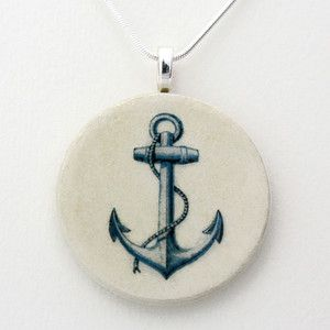 Halskette Anchor, 18€, jetzt auf Fab.