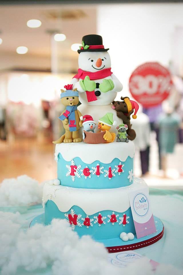 Bolos,cakedesign,pasgelpan,Cakes,Christmas
