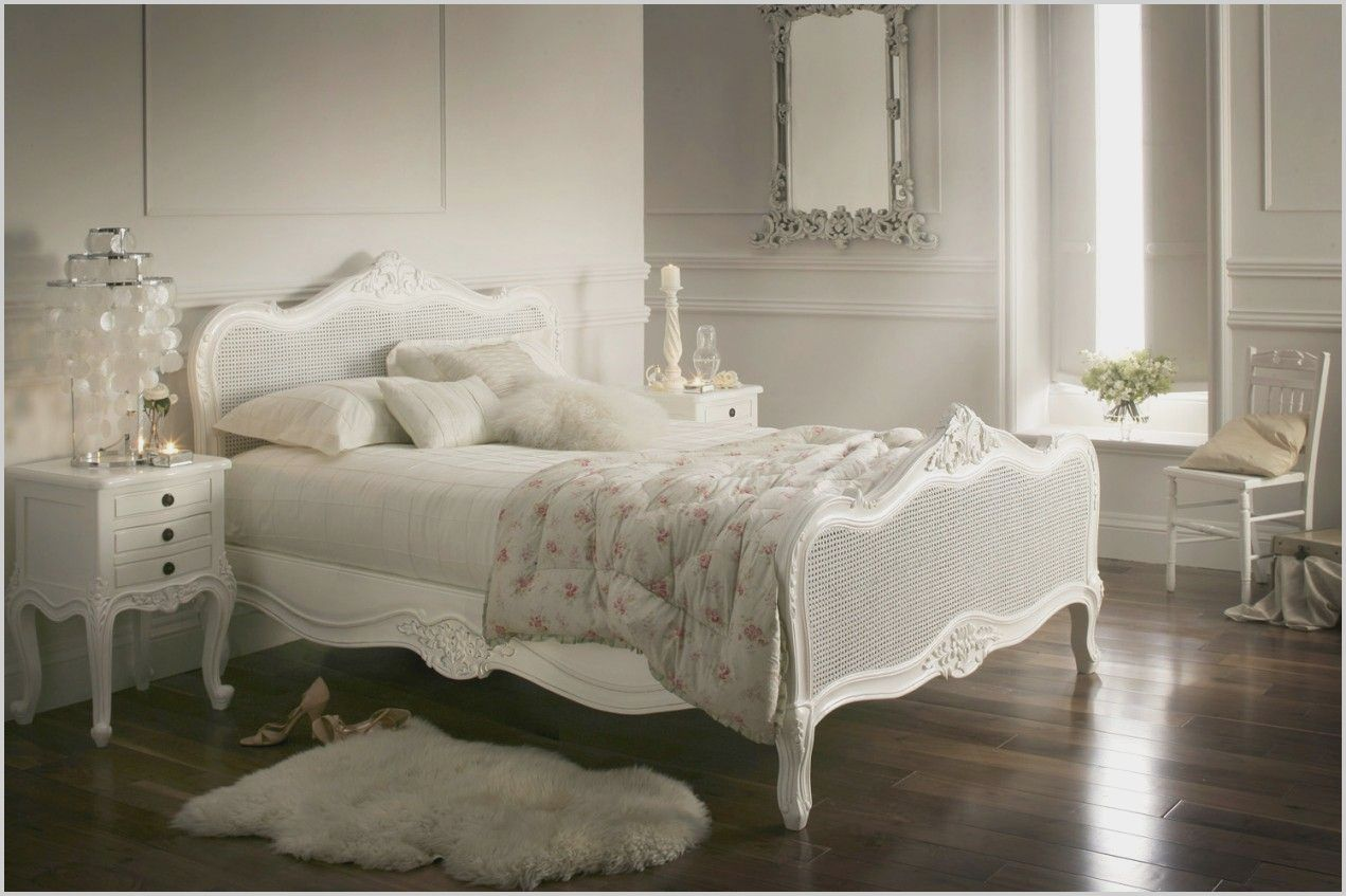 White Rattan Bedroom Furniture In 2020 White Wooden Bed French Furniture Bedroom Bedroom Furniture Uk