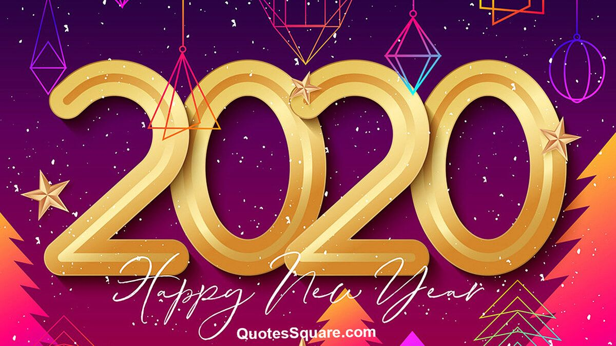 3D Texture Happy New Year 2020 Image Hd Happy new year