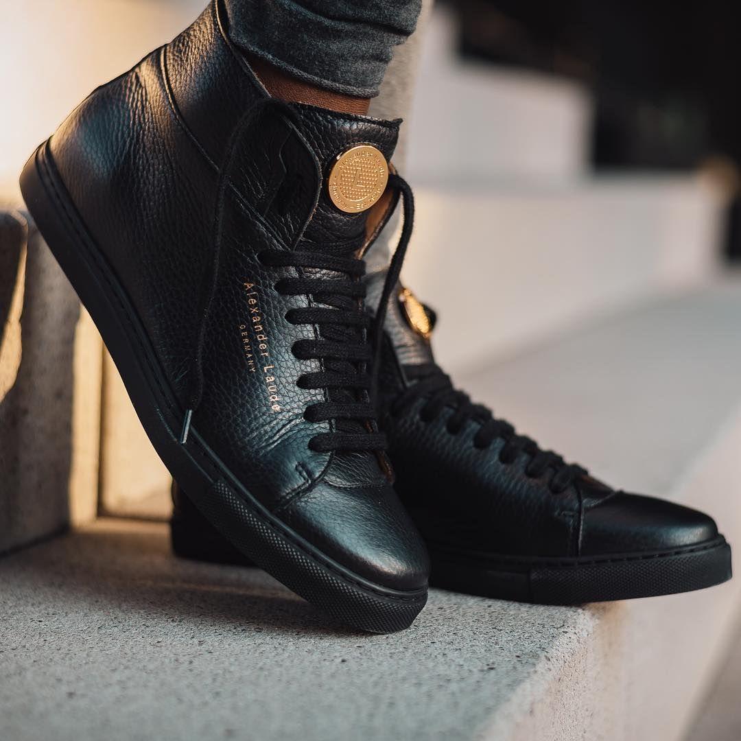 Alexander Laude Model Black Magic Premium Calf Leather