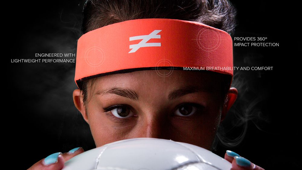 Halo headband Fifa approved concussion protection for soccer players ... c9a233470aa