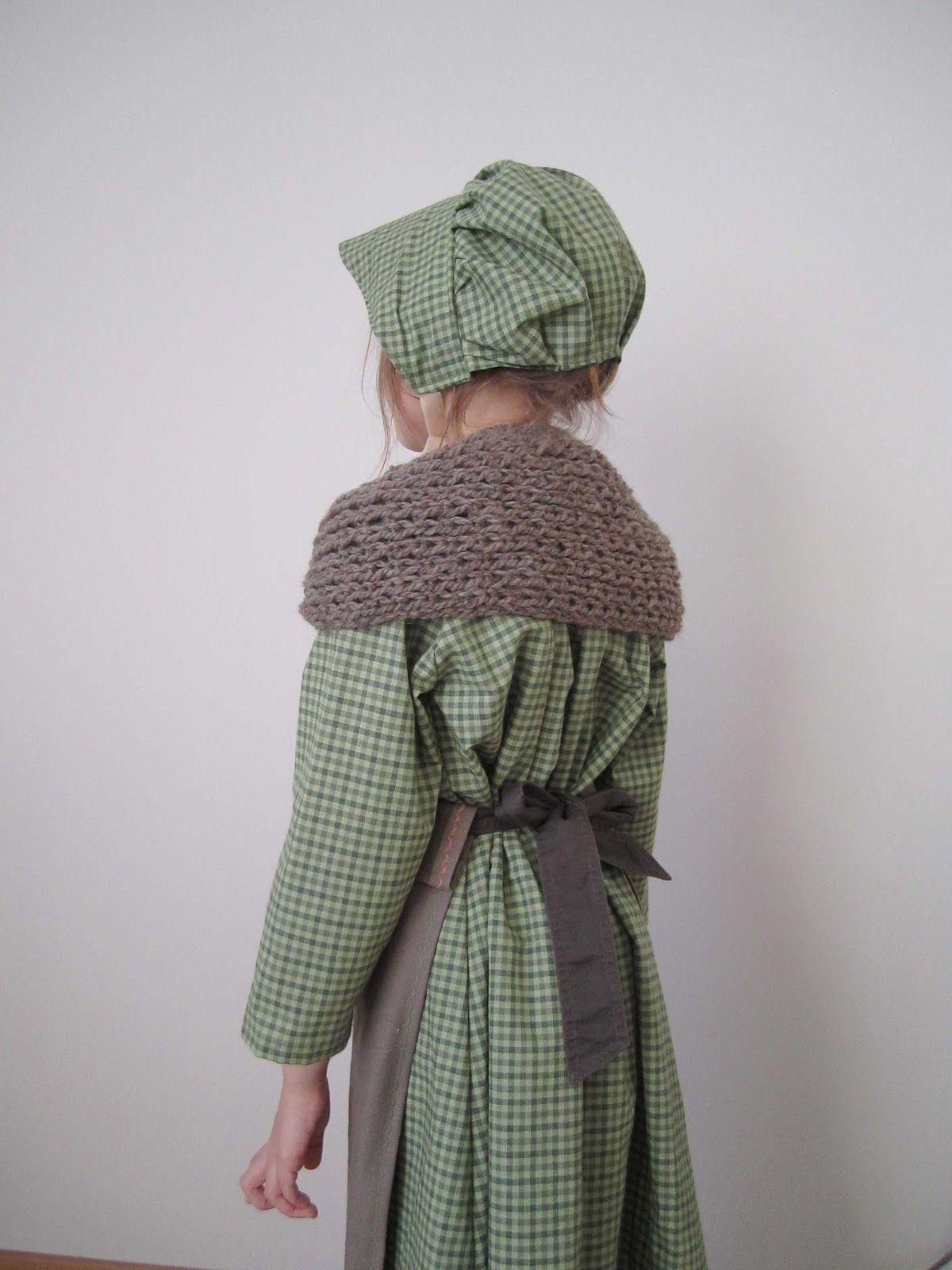 660e600cd4217 Costume Petite maison dans la Prairie ©La Nébuleuse de Dalila Deguisement  Enfant