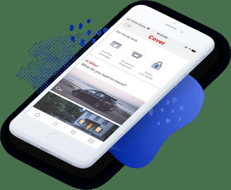 Cover Insurance App Mobile app design
