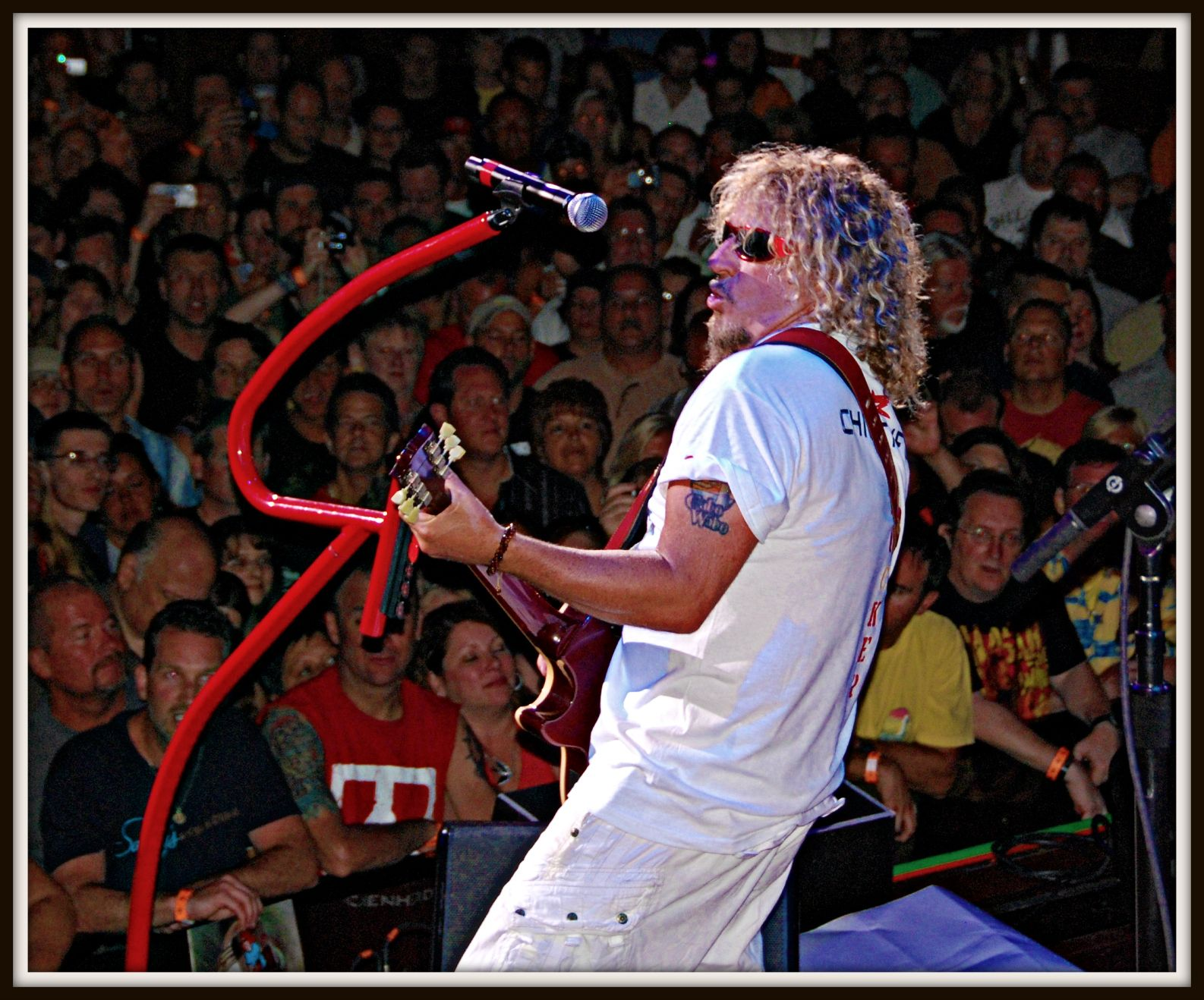 Sammy Hagar House Of Blues Atlantic City Nj 2011 Sammy Hagar Red Rocker Van Halen