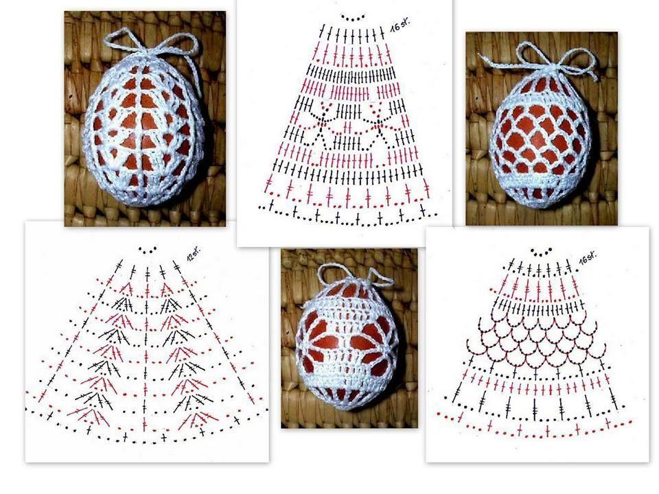 Easter Crochet | Easter | Pinterest | Campanas navideñas, Cristhmas ...
