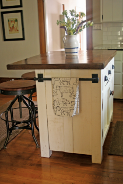 Kitchen Island Hand Towel Rack For The Home Diy