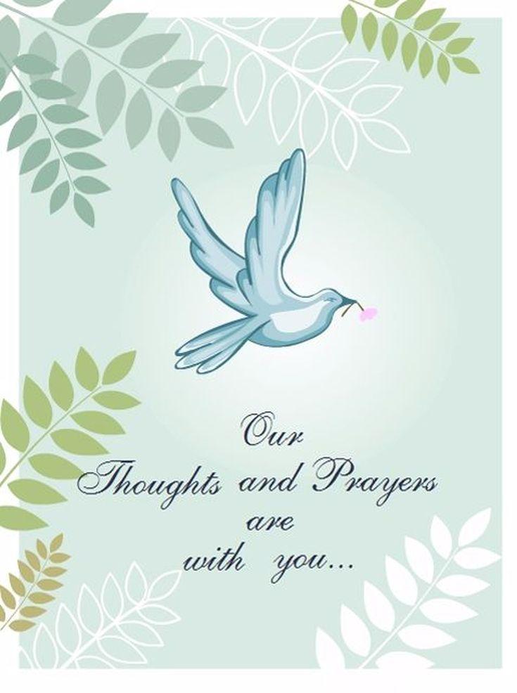 8 free printable sympathy cards for any loss condolence
