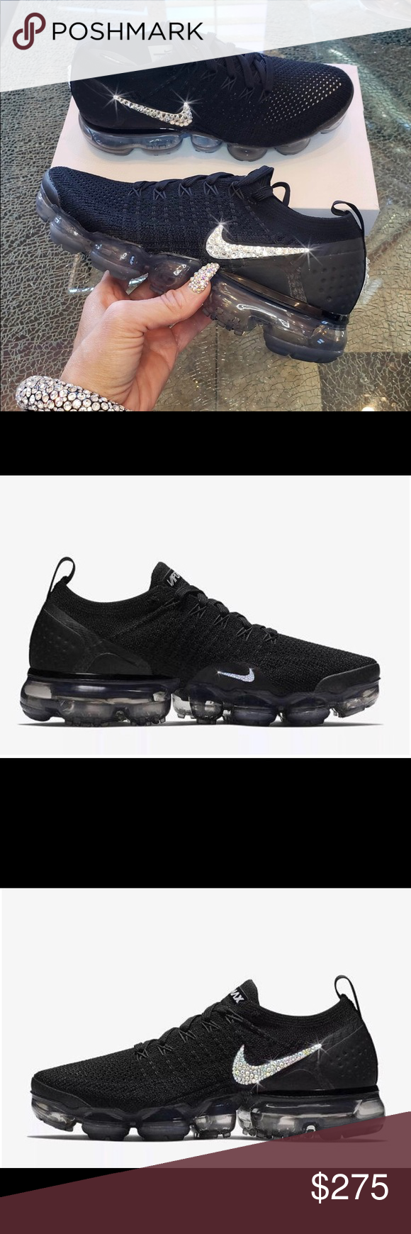 067329da894a5 Nike Air Vapormax Flyknit 2 w/Bling These are brand new Nike Air ...
